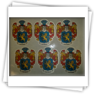 Textilaufkleber Promotexat Agentur Astna Sticken
